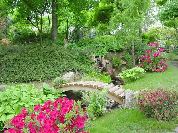 Интересный дизайн садового участка своими руками – фотогалерея и видео 1