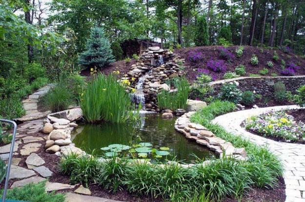 Интересный дизайн садового участка своими руками – фотогалерея и видео 2
