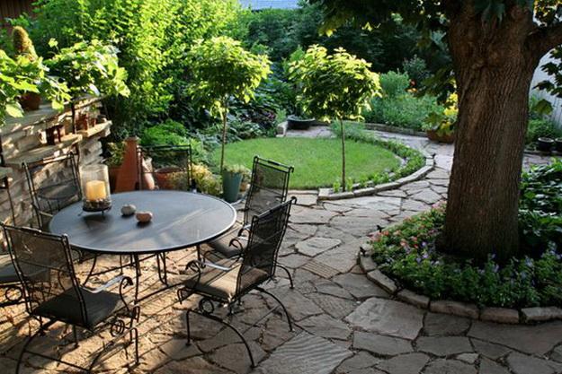 Интересный дизайн садового участка своими руками – фотогалерея и видео 4
