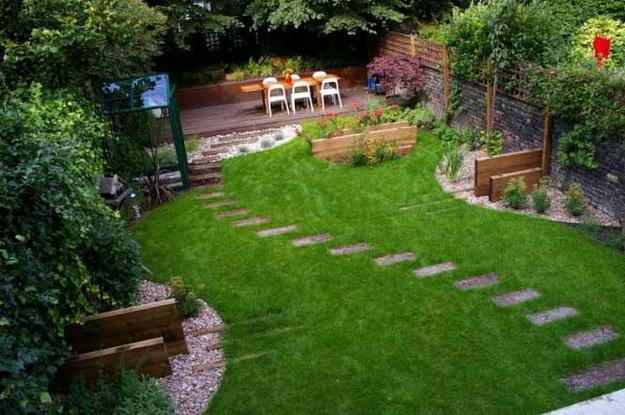 Ландшафтный дизайн небольшого участка перед домом - варианты и интересные решения 2