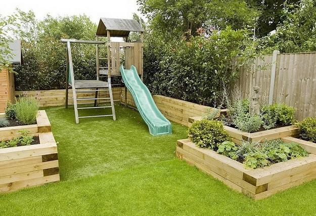 Ландшафтный дизайн небольшого участка перед домом - варианты и интересные решения 6