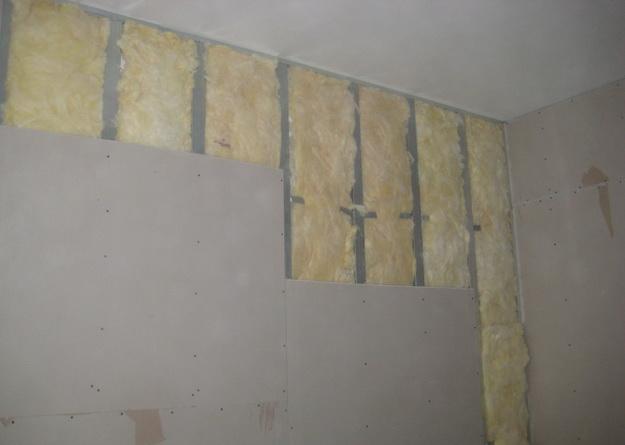 Правильная отделка стен гипсокартонном без каркаса и профиля 3