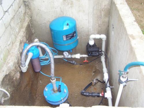 Водопровод в частном доме – делаем своими руками от скважины 2