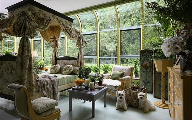 Прекрасный зимний сад в частном доме – фото и примеры 2